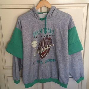 Other - Vintage 80s 90s detroit tigers baseball hoodie